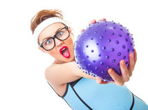 Fitness woman Stock Image