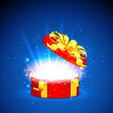 Surprised Gift Royalty Free Stock Images