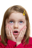 Surprised girl Royalty Free Stock Photo