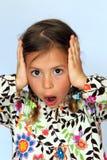Surprised girl Royalty Free Stock Image