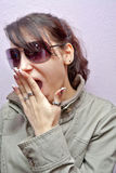 Surprised girl Stock Image