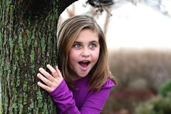 Surprised girl Stock Photos