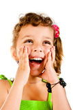 Surprised girl Royalty Free Stock Photography
