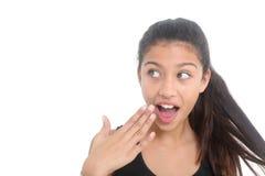 Surprised girl Stock Photos