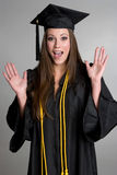 Surprised Graduate Stock Images