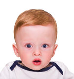 Surprised kid Royalty Free Stock Photography