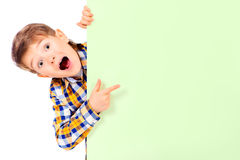 Surprised kid Stock Photo