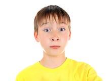Surprised Kid Portrait Royalty Free Stock Image
