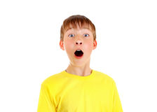 Surprised Kid Portrait Royalty Free Stock Images