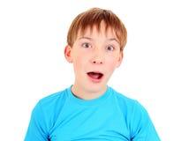 Surprised Kid Portrait Royalty Free Stock Photo