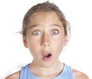Surprised kid Stock Photos