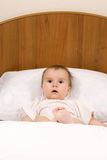 Surprised little baby Stock Photography