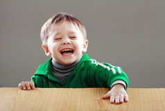 Surprised little boy Royalty Free Stock Photography