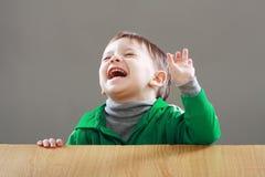 Surprised little boy Stock Image