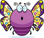 Surprised Little Butterfly Royalty Free Stock Image