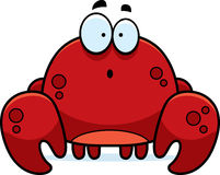 Surprised Little Crab Stock Photography
