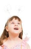 Surprised Little Girl Royalty Free Stock Image