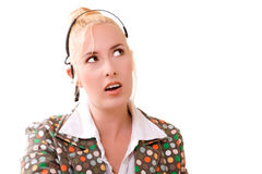 Surprised look Stock Images