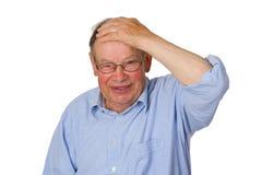 Surprised Male senior Royalty Free Stock Image