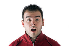 Surprised Man Royalty Free Stock Photography