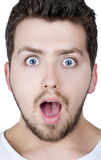 Surprised man Royalty Free Stock Photos