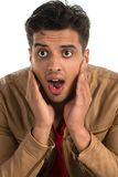 Surprised man Stock Image