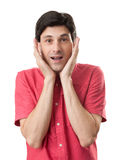 Surprised man Royalty Free Stock Images