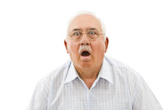 Surprised man royalty free stock photo