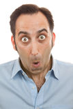 Surprised man portrait Stock Photo