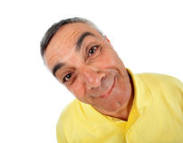 Surprised man with WOW expression. Stock Photo