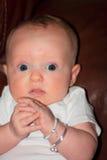 Surprised Newborn Stock Images