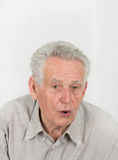Surprised old man Royalty Free Stock Photos