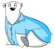 Surprised polar bear Royalty Free Stock Images