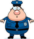 Surprised Police Stock Photo