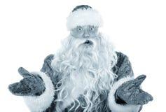 Surprised Santa Claus Royalty Free Stock Photo