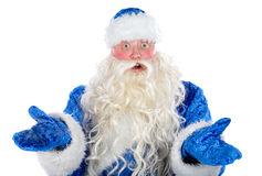Surprised  Santa Claus Stock Image