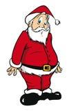 Surprised Santa Claus Royalty Free Stock Images