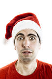 Surprised Santa Claus Royalty Free Stock Photos