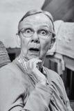 Surprised Senior Woman Stock Photo
