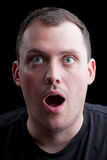 Surprised Shocked Man Royalty Free Stock Photo