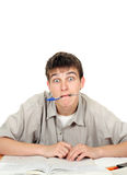 Surprised Student Stock Photography