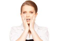 Surprised teenage girl Royalty Free Stock Image