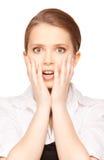 Surprised teenage girl Stock Photo