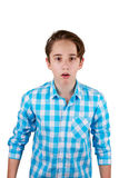 Surprised teenager Stock Images