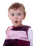 Surprised Toddler Stock Images