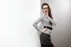 Surprised woman Stock Photos
