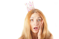 Surprised woman Royalty Free Stock Photo