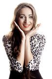 Surprised woman, miracle Royalty Free Stock Photos