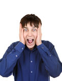 Surprised Young Man Stock Image