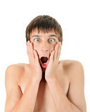 Surprised Young Man Stock Photography